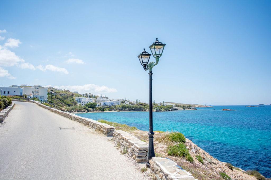 Driving in Paros
