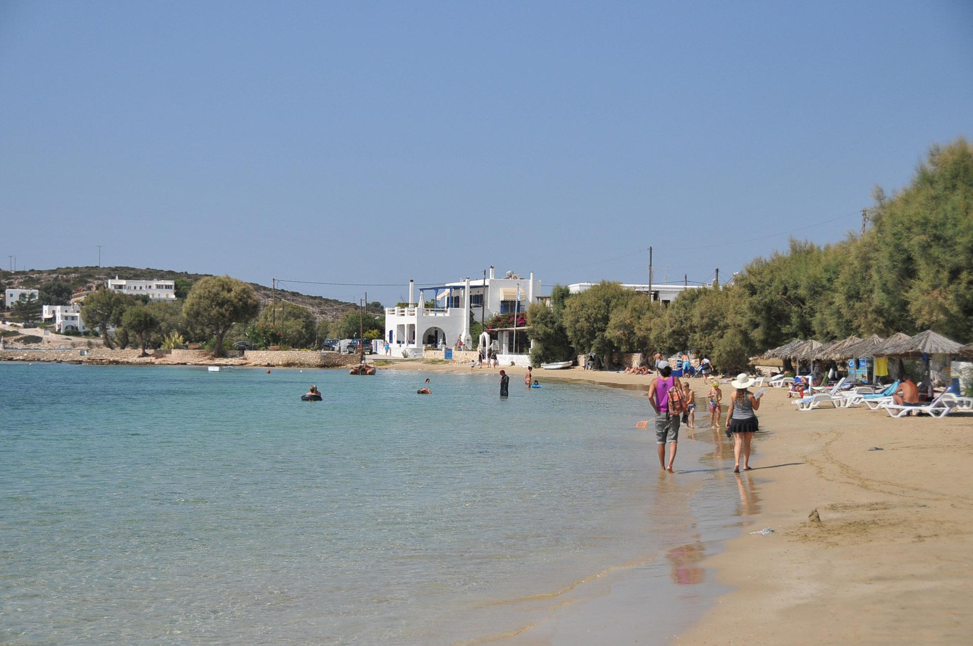 Aliki Beach Paros