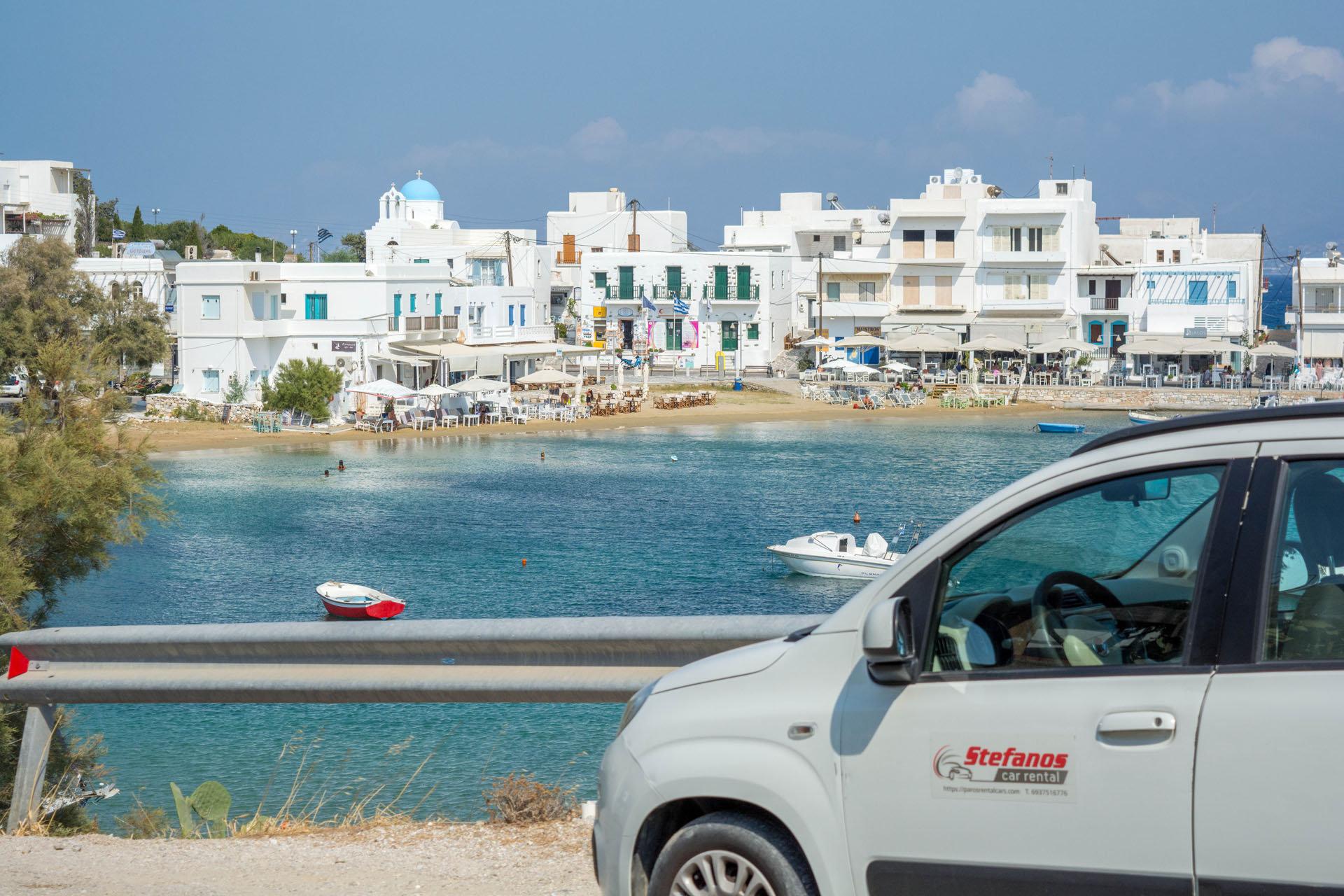 How to choose a car in Paros